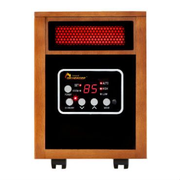 most energy efficient electric space heater