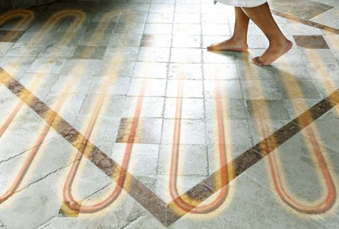 how does radiant floor heating work