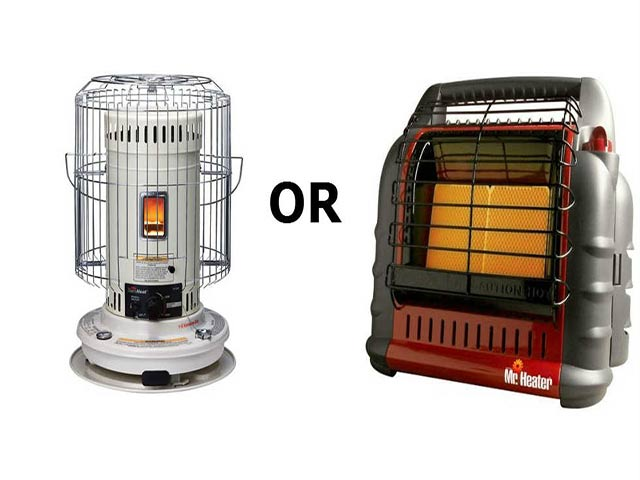 kerosene vs propane heaters
