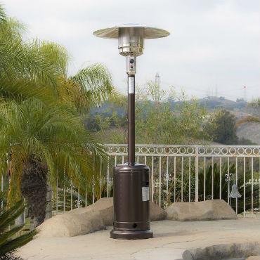portable outdoor propane heater