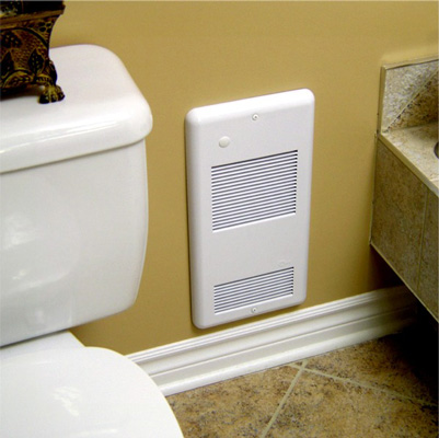types of bathroom heaters